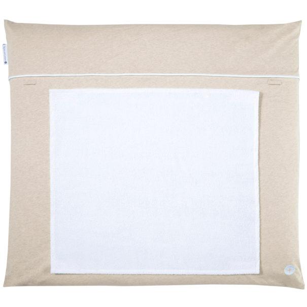 Wickelaufalge beige handtuch abnehbar