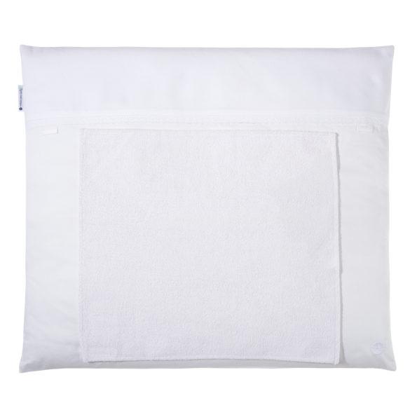 Wickelauflage weiß spitze mit handtuch abnehmbar