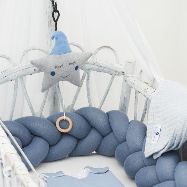 Spieluhr Sternblau baby spieluhr grau