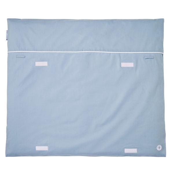Changing mat blue grey velcro