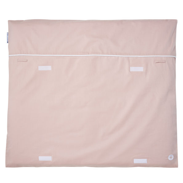 Changing mat old-rose voile volcre
