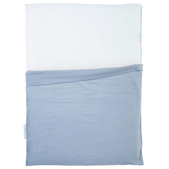 Changing mat Blue Grey cover narrow