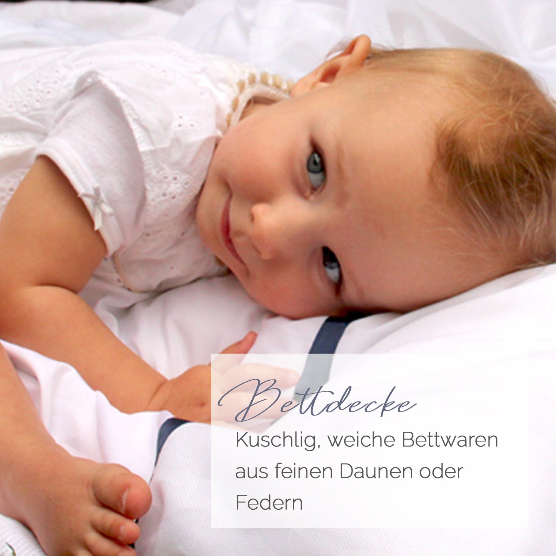 Daunen Bettdecke – Mobil