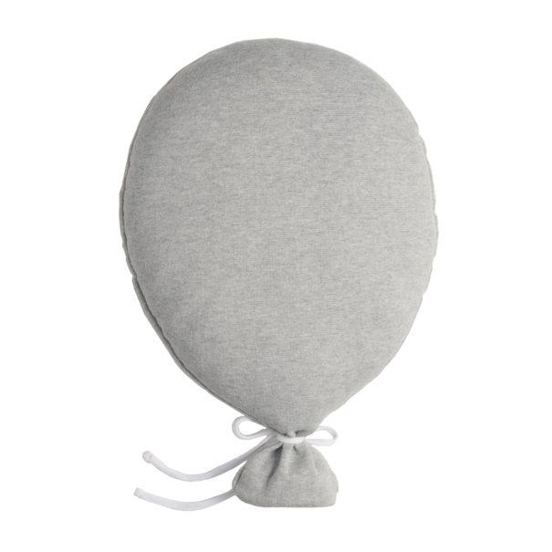 Ballon Kissen Babykissen Dekokissen grau